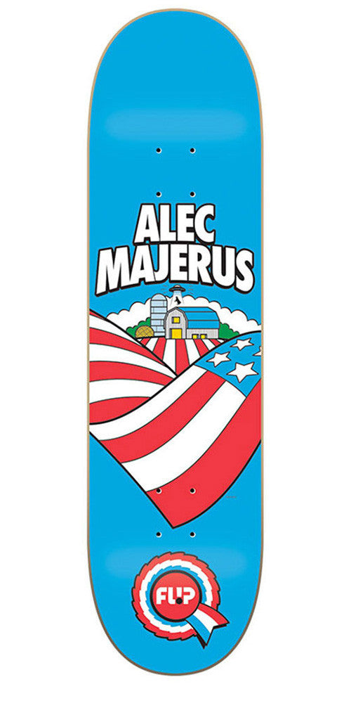 Flip Majerus Heartland - Blue - 8.25in x 32.31in - Skateboard Deck