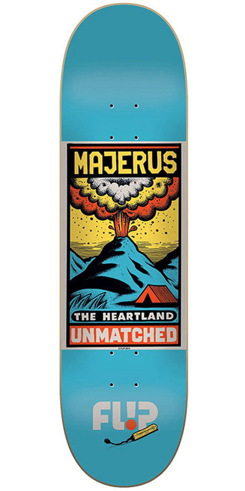 Flip Majerus Unmatched Series - Blue - 8.25in x 32.31in - Skateboard Deck