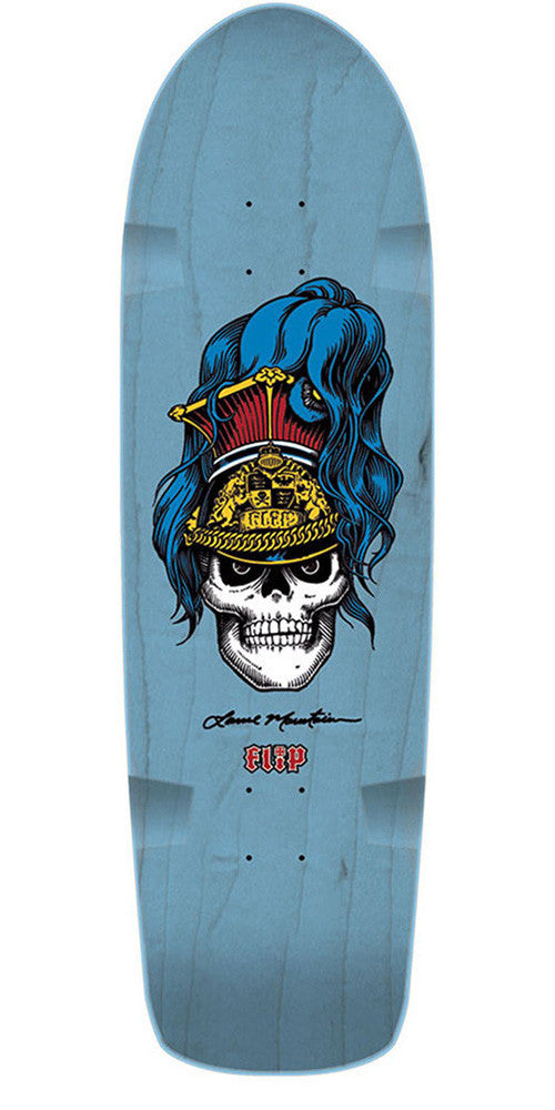 Flip Mountain Brigadier - Baby Blue - 9.5in x 32.75in - Skateboard Deck