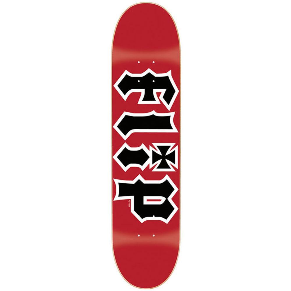 Flip Team HKD Regular - Red - 7.5in x 31.25in - Skateboard Deck