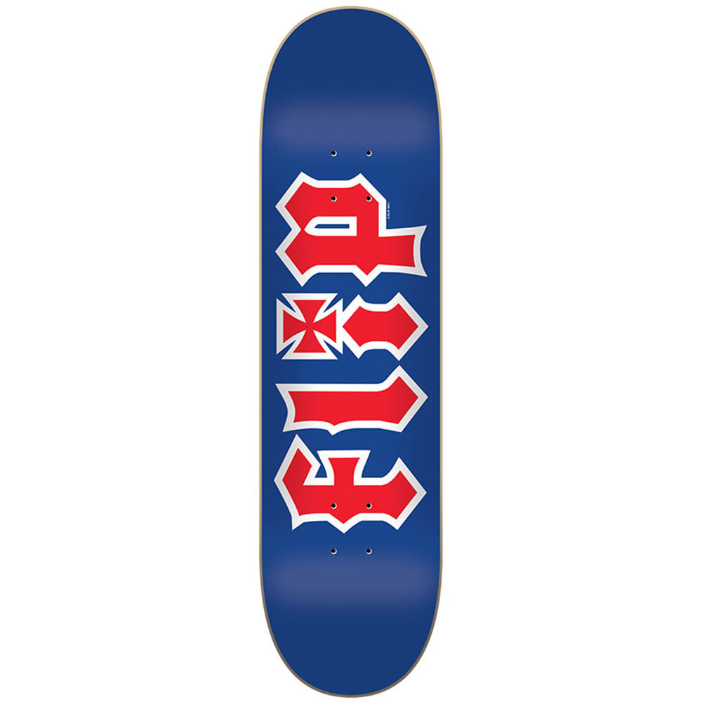 Flip Team HKD RWB - Blue - 32.31in x 8.25in - Skateboard Deck