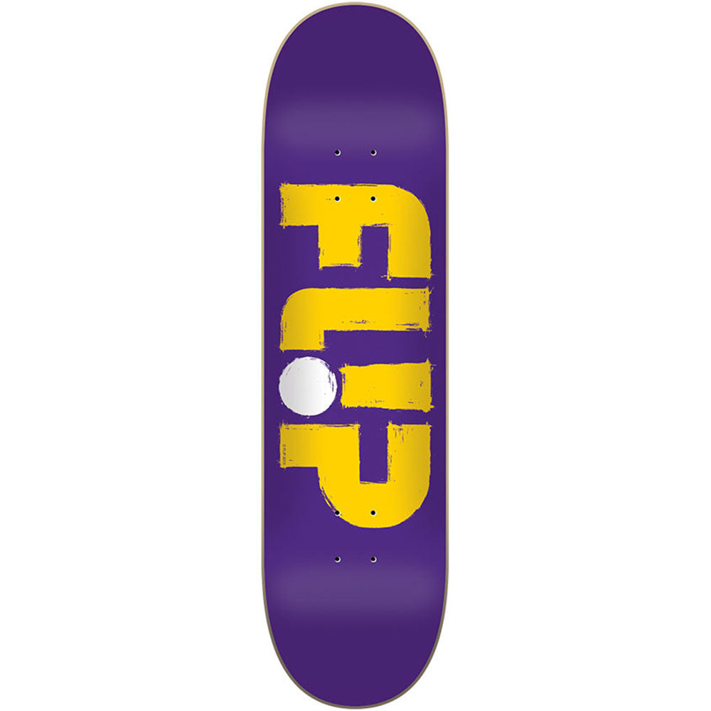 Flip Team Odyssey Stroked - Purple - 31.5in x 8.0in - Skateboard Deck