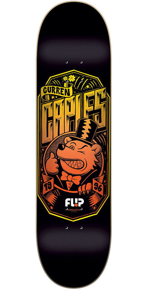Flip Caples Iconoclastics Series - Black - 32.31in x 8.25in - Skateboard Deck