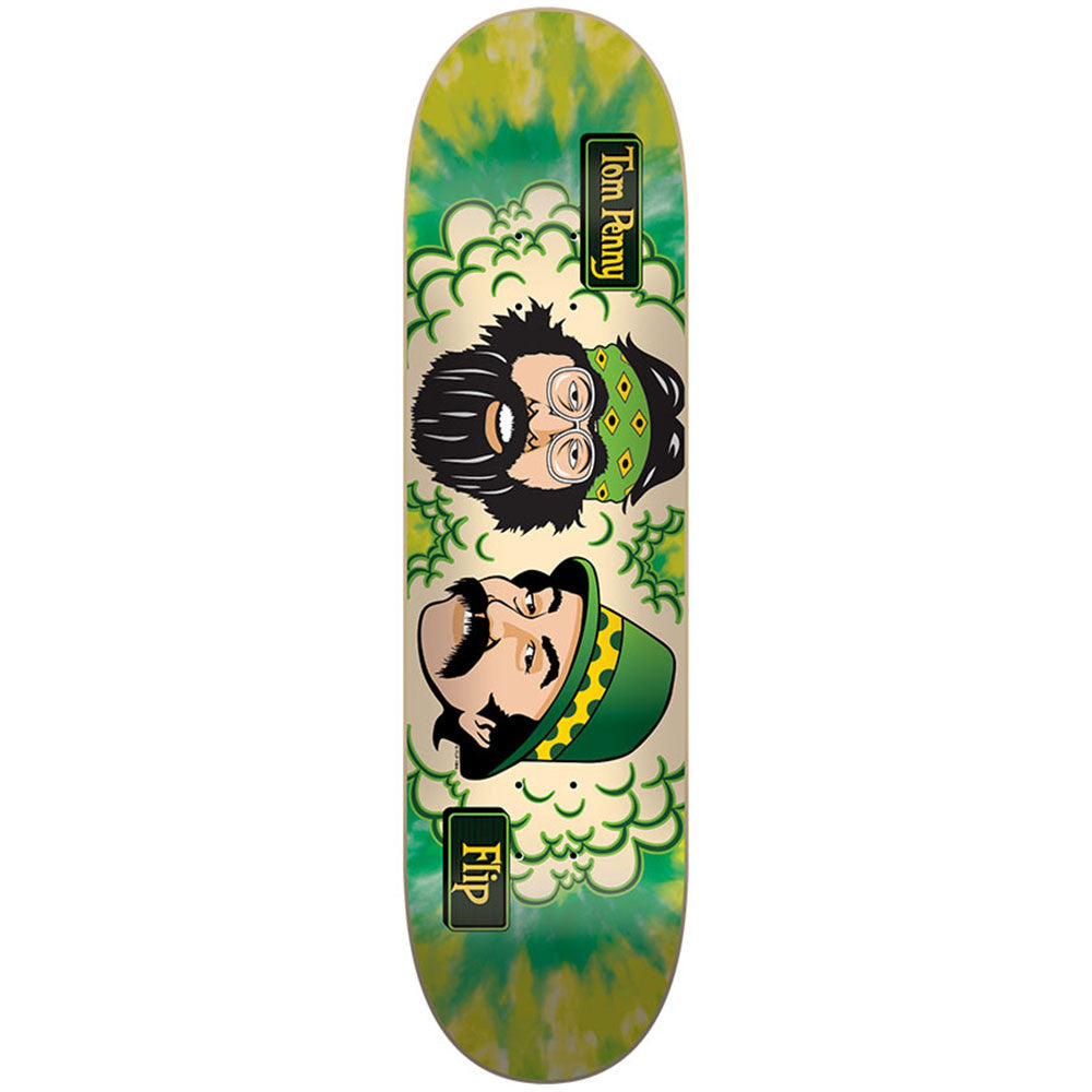 Flip Penny Cheech & Chong Green Room - Green - 32.0in x 8.13in - Skateboard Deck