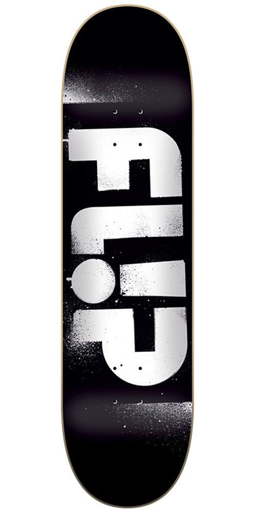 Flip Team Odyssey Stencil Team - Black - 32.31in x 8.25in - Skateboard Deck