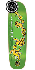 Flip Mountain Doughboy Somersault Pro P2 - Green - 32.5in x 9.0in - Skateboard Deck