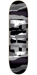 Flip Odyssey Torn Grayscale Team - Multi - 32.31in x 8.25in - Skateboard Deck