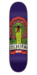 Flip Gonzalez Gallery Series Pro - Purple - 31.50in x 8.00in - Skateboard Deck