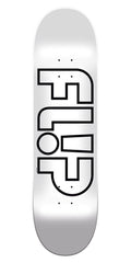 Flip Odyssey Whiteout - White - 31.50in x 8.00in - Skateboard Deck