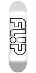 Flip Team Odyssey Whiteout Team - Silver - 8in x 31.5in - Skateboard Deck