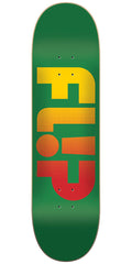 Flip Team Odyssey Faded Team - Green - 7.81in x 31.5in - Skateboard Deck