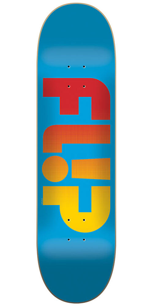 Flip Team Odyssey Faded Team - Blue - 8.45in x 32.15in - Skateboard Deck