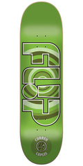 Flip Caples Target Pro P2 - Green - 8.45in x 32.15in - Skateboard Deck