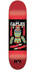 Flip Caples Harlequin - Red - 8.45in x 32.15in - Skateboard Deck