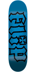 Flip HKD Decay Hard Rock Maple - Blue - 7.5in x 31.25in - Skateboard Deck