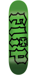 Flip HKD Decay Hard Rock Maple - Green - 7.75in x 31.63in - Skateboard Deck