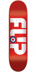 Flip Team Modyssey Logo - Red - 8.13in x 32.0in - Skateboard Deck
