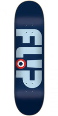 Flip Team Modyssey Logo - Blue - 8.25in x 32.31in - Skateboard Deck