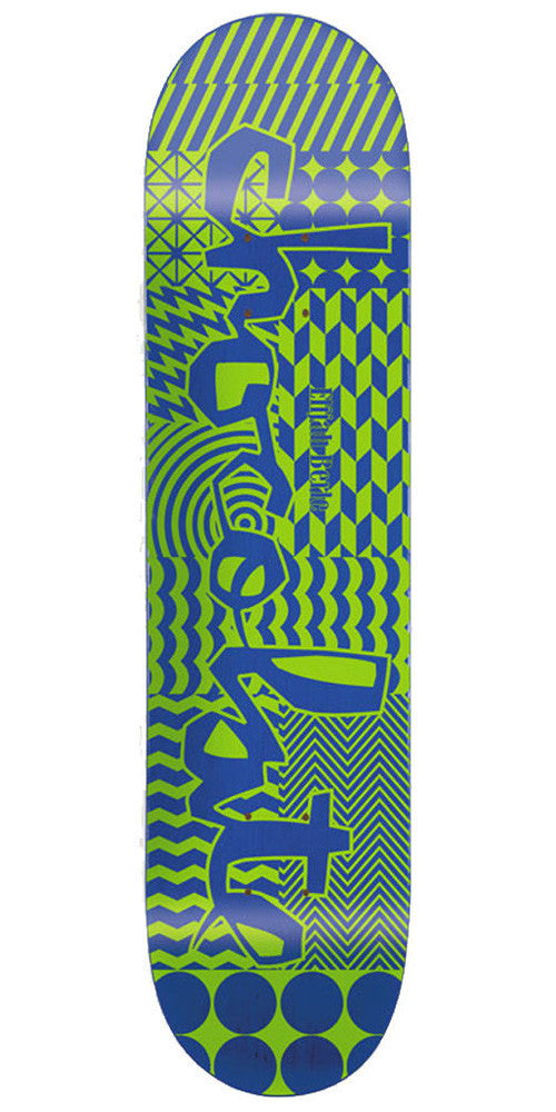 Chocolate Berle Modern Chunk - Assorted - 8.5in - Skateboard Deck