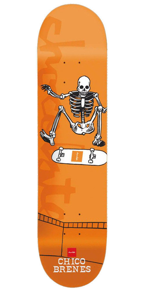 Chocolate Brenes Day of Shred - Orange - 8.0in - Skateboard Deck
