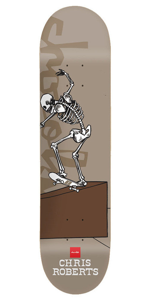 Chocolate Roberts Day of Shred - Taupe - 8.0in - Skateboard Deck