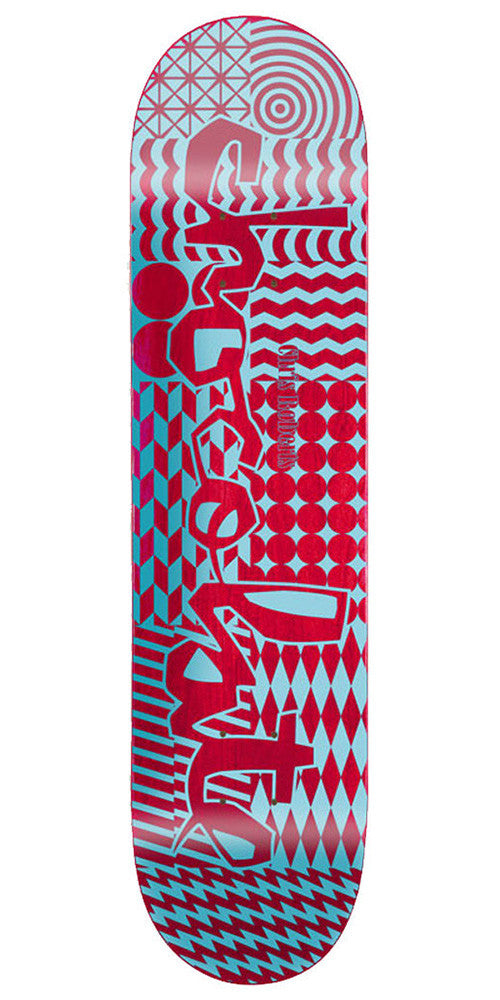 Chocolate Roberts Modern Chunk - Assorted - 8.0in - Skateboard Deck