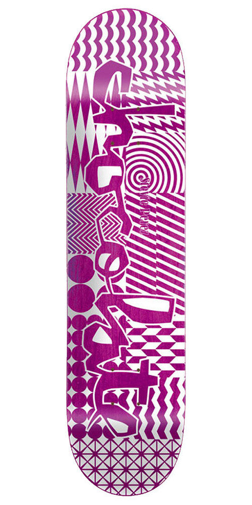 Chocolate Perez Modern Chunk - Assorted - 8.25in - Skateboard Deck