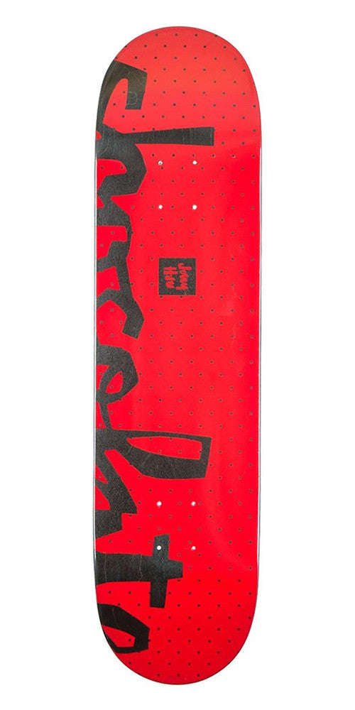 Chocolate HSU Floater Chunk - Red - 8.0in x 31.5in - Skateboard Deck