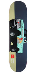 Chocolate Alvarez Monster Trucks - Navy - 8.0in x 31.5in - Skateboard Deck