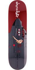Chocolate Alvarez Bomber - Maroon - 8.25in x 32.0in - Skateboard Deck