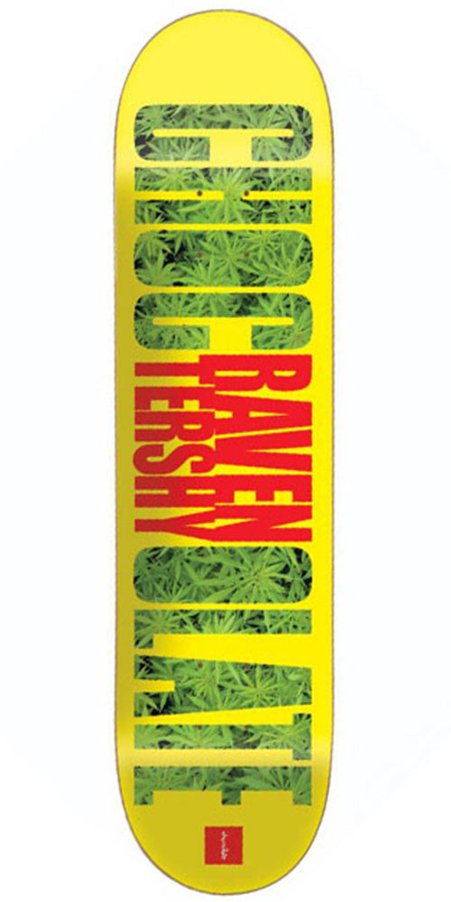 Chocolate Tershy Big Chocolate - Yellow - 8.5in x 32.25in - Skateboard Deck