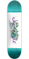 Chocolate Anderson Tradiciones - Teal/White - 8.125in x 31.625in - Skateboard Deck