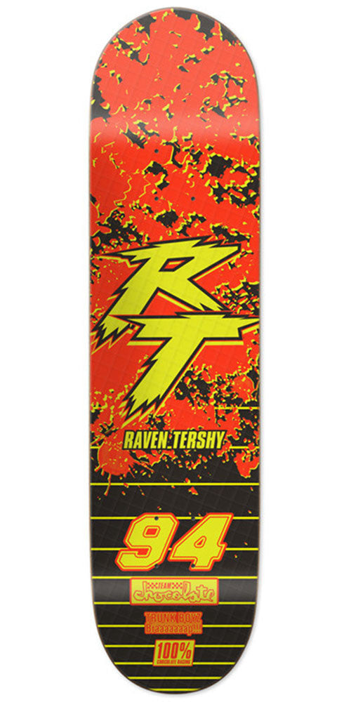 Chocolate Raven Tershy Braaaap - Multi - 8.5in x 31.875in - Skateboard Deck
