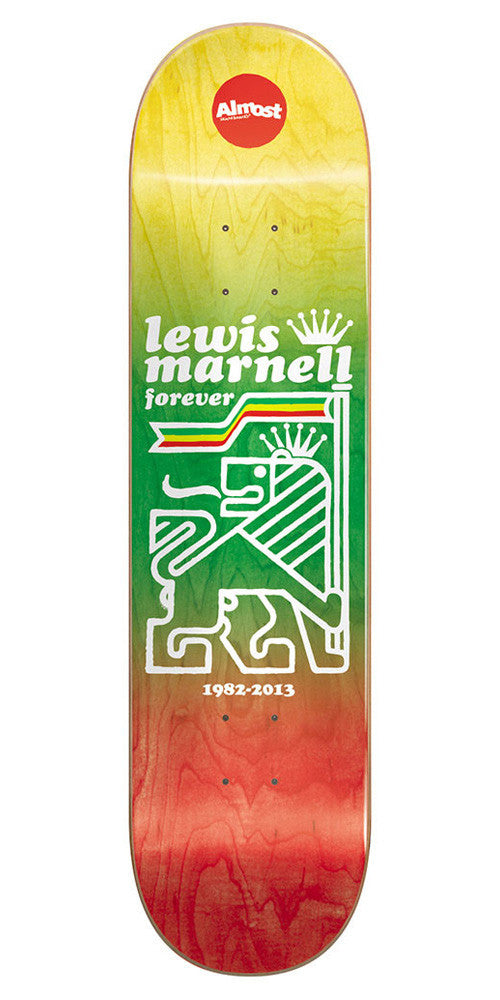 Almost Farewell R7 - Rasta - 8.0 - Skateboard Deck