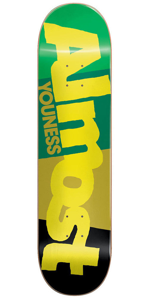 Almost Youness Amrani C-Block R7 - Multi - 7.75 - Skateboard Deck