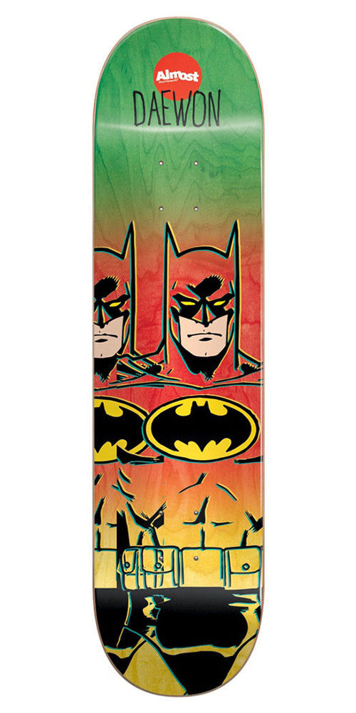 Almost Daewon Song Batman Fade R7 - Multi - 7.75 - Skateboard Deck