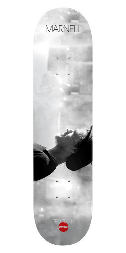 Almost Lewis Marnell Seu Trihn Colab R7 - White - 8.25 - Skateboard Deck