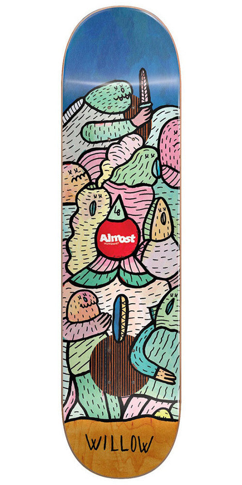 Almost Willow Lucas Beaufort Impact Plus - Multi - 8.375in - Skateboard Deck