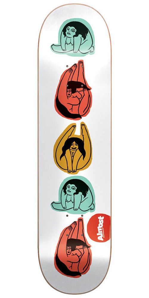 Almost Yoga Girl R7 - Multi - 8.25in - Skateboard Deck