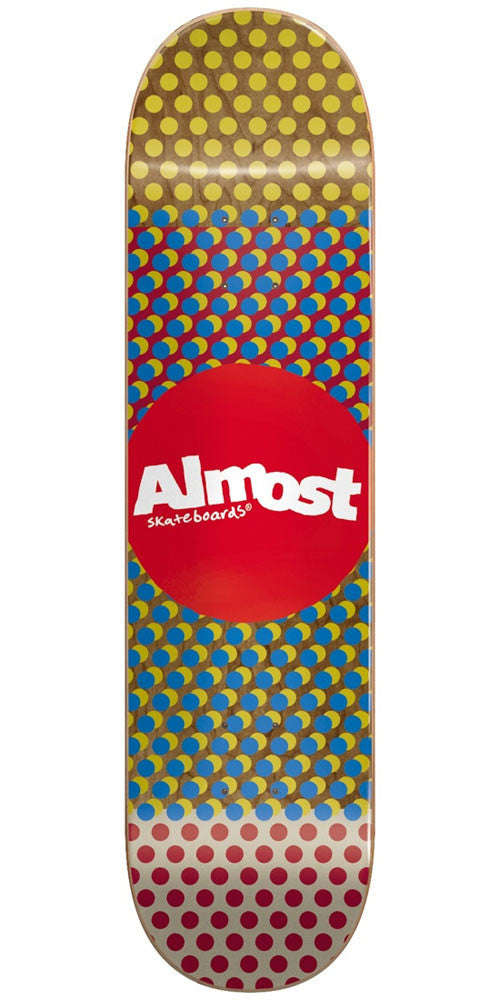 Almost Wordmark'D R7 - Multi - 8.0in - Skateboard Deck