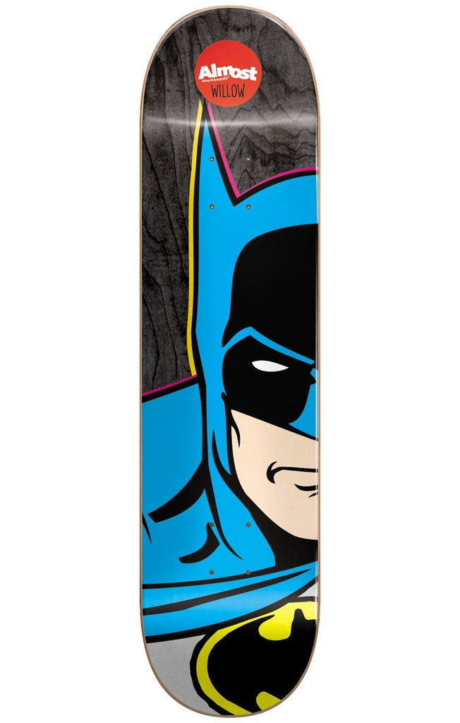 Almost Willow Batman Split Face R7 - Black - 7.75in - Skateboard Deck