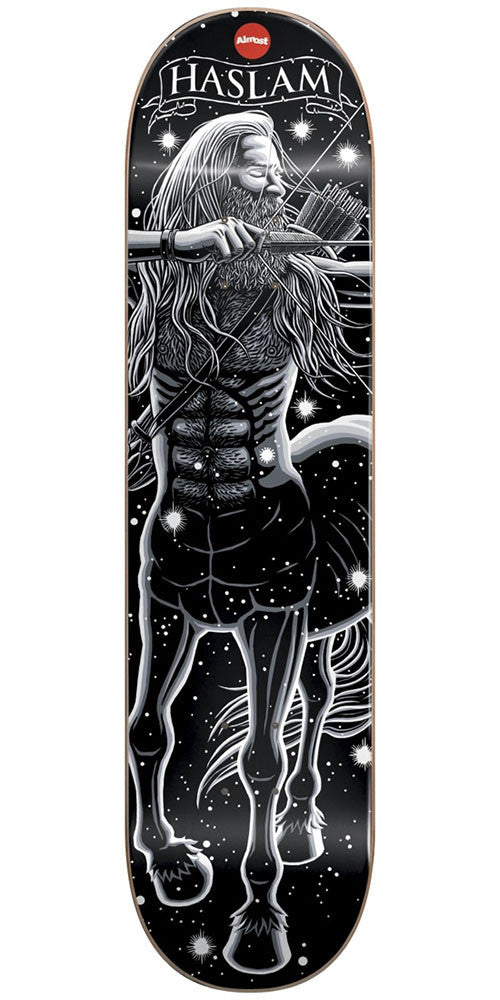 Almost Chris Haslam Zodiac R7 - Black - 8.25in - Skateboard Deck