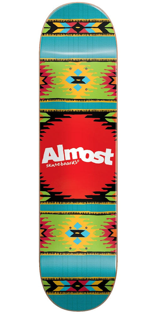 Almost Aztek HYB - Ocean - 8.0in - Skateboard Deck