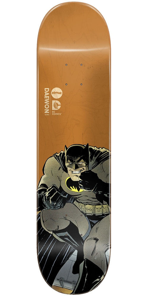 Almost Daewon Song Batman Dark Knight Returns - Tan - 7.75in - Skateboard Deck