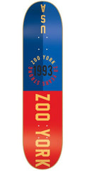 Zoo York Sport 2 - Blue/Red - 8.25 - Skateboard Deck