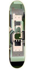 Zoo York East Camo - Green - 8.0 - Skateboard Deck