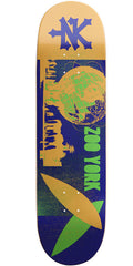 Zoo York Landmark Flushing Meadows - Orange/Blue - 8.37 - Skateboard Deck