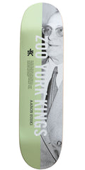 Zoo York Suski Criminology - White/Black - 8.25 - Skateboard Deck