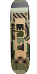 Zoo York East Camo - Green/Natural - 8.25 - Skateboard Deck