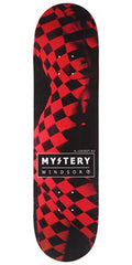 Mystery James Vivid - Black/Red - 8.125 - Skateboard Deck